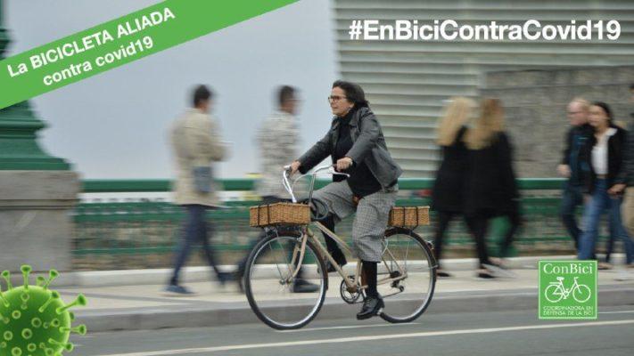 La movilidad en bici dentro de la legalidad vigente por el estado de alarma no puede ser cuestionada