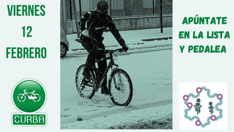 El viernes 12F… al trabajo en bici!