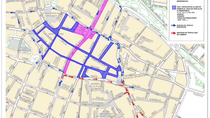 Formulario sobre la remodelación del centro de la ciudad