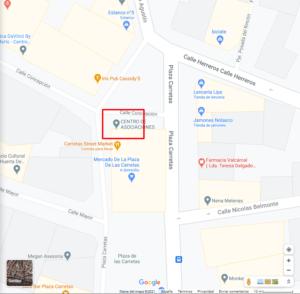 Mapa Casa Carretas